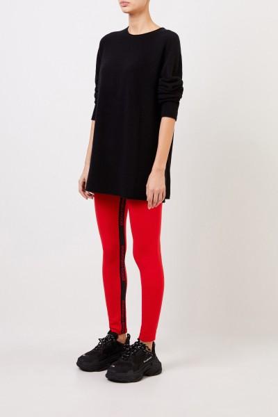 Cashmere pullover Black