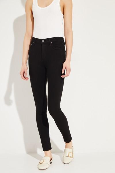 Skinny-Jeans 'Rocket' Schwarz