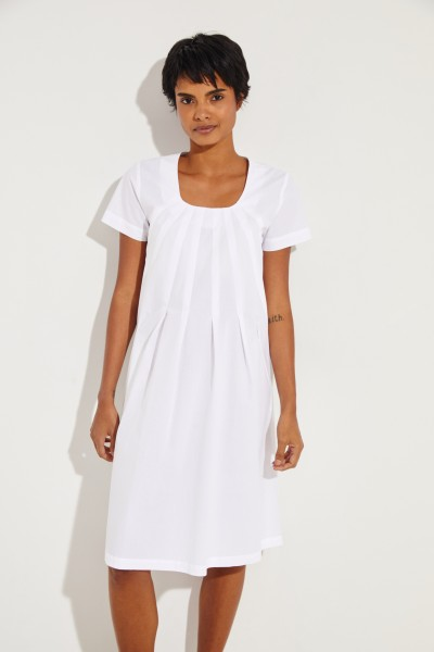Cotton dress 'Pistill' White