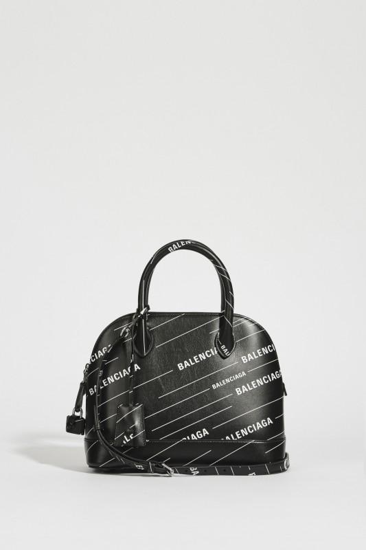 6558bce0e6 Bag 'Ville S' with logo black/white | Handbags | Bags | Clothing ...