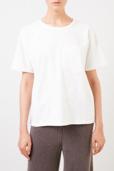 Rag&Bone Baumwoll-Shirt 'Oversized The Tee' Crème