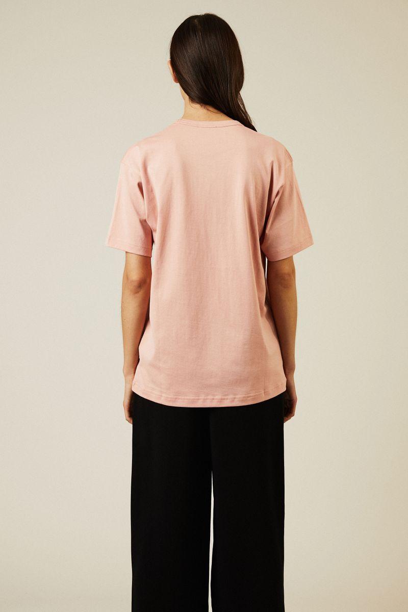 T-Shirt 'Nash Face' Pale Pink