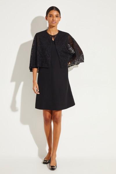 Givenchy Baumwoll-Cape aus Spitze Schwarz