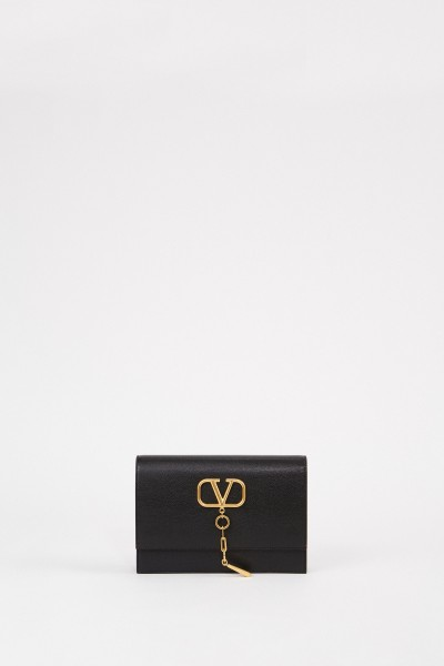 Valentino Bag with logo detail Black