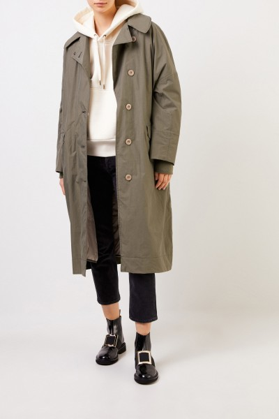G-lab Long coat 'Audrey' Khaki