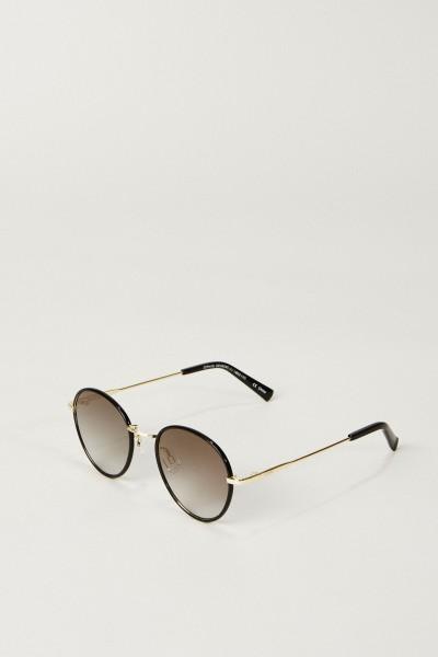 Sonnenbrille 'Zephyr Deux' Schwarz/Gold
