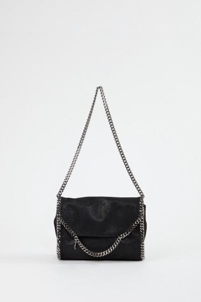 Stella McCartney Shoulder Bag 'Big Shoulder Falabella' Black