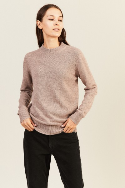 Cashmere-Pullover Taupe