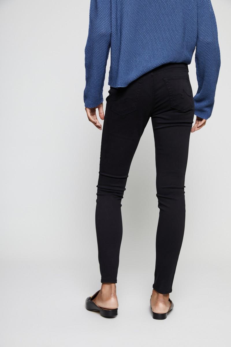 Super Skinny Jeans 'The Legging Ankle' Schwarz