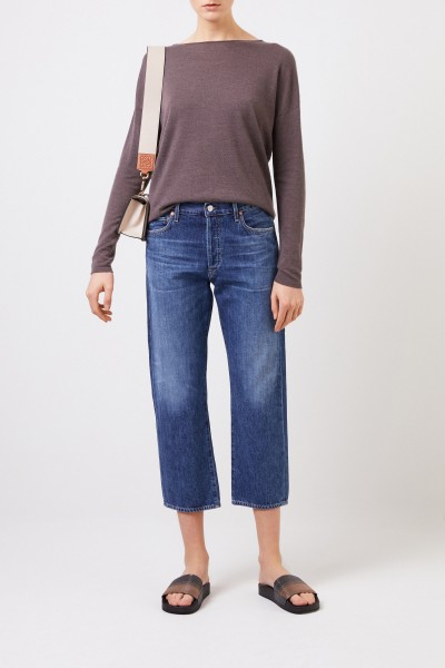 Oversize Cashmere-Pullover 'Laniv' Braun
