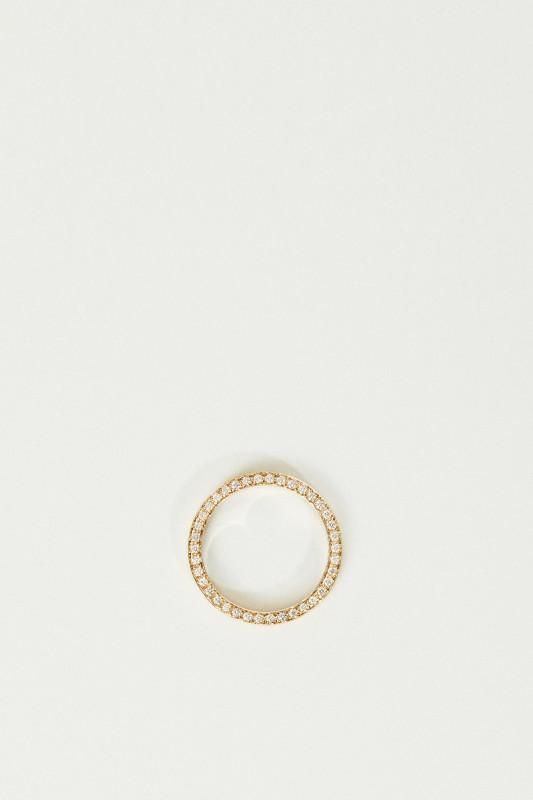 Ring 'Lua' mit Diamanten Gold