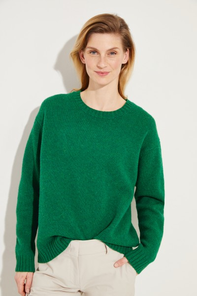 Woll-Pullover 'Samara' Grün