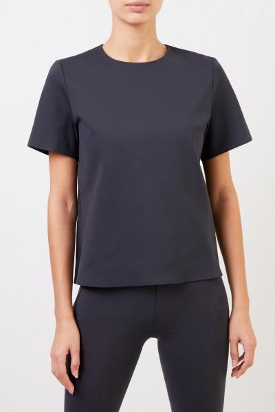 The Row Short sleeve shirt 'Gaspar' Grey