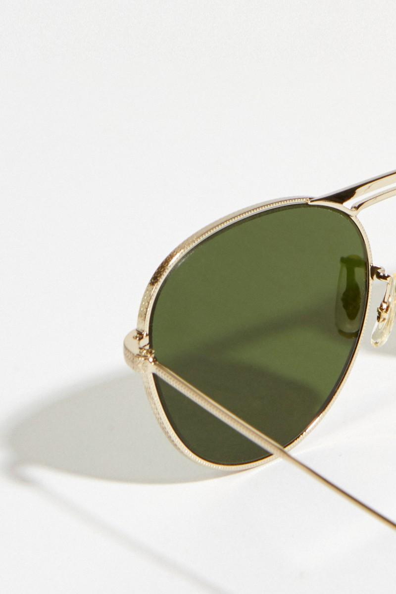 Sonnenbrille 'Cade' Grün/Silber