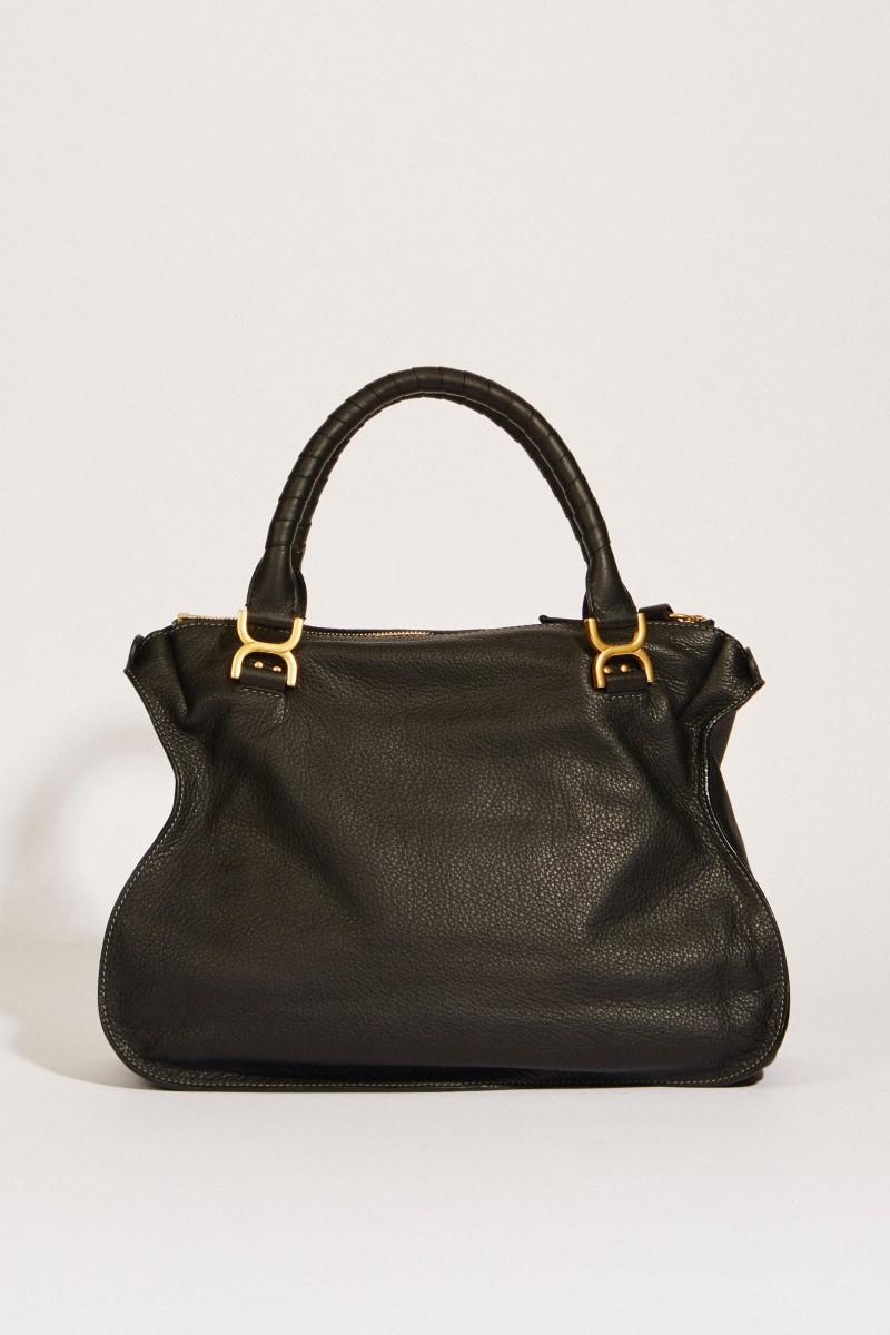 Handtasche 'Marcie Large' Schwarz