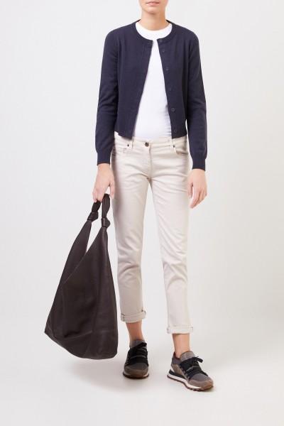 Cashmere cardigan Navy Blue