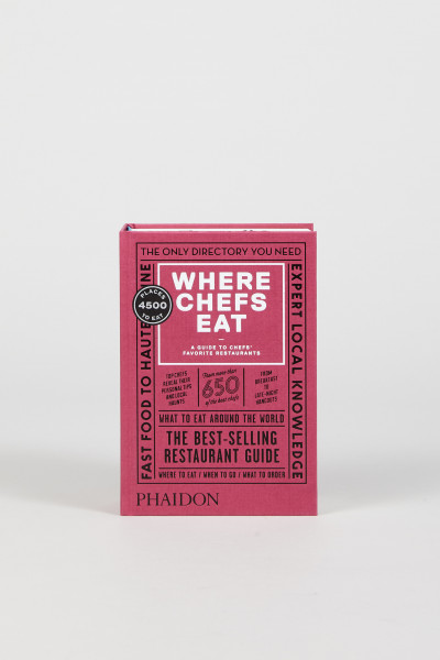Buch 'Where Chefs Eat'