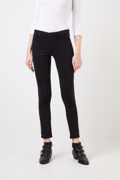 AG Jeans Cigarette Leg Jeans 'The Prima' Schwarz