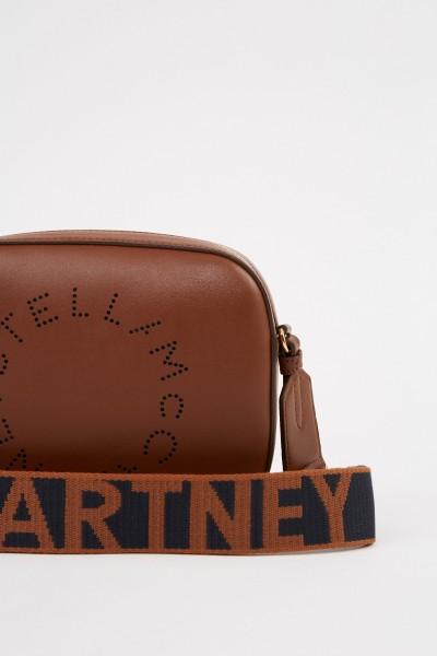 Stella McCartney Umhängetasche 'Mini Camera Bag' Braun