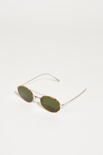 Sonnenbrille 'Shai' Cognac/Silber