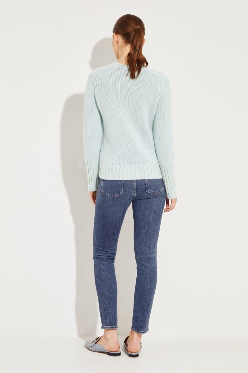 Cashmere-Pullover 'Mariella' Grün