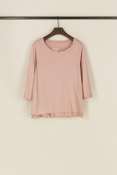 Baumwoll-Shirt 'Tizia' Altrosé
