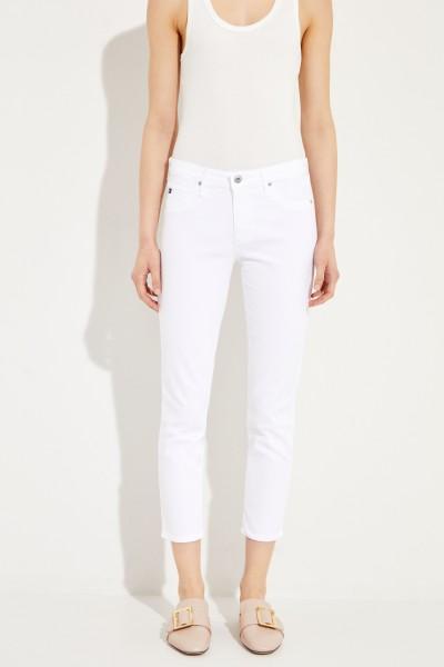 Jeans 'The Prima Crop' Weiß