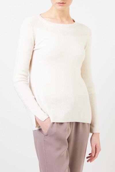 Iris von Arnim Cashmere-Seiden Pullover 'Tami' Crème
