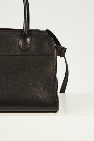 The Row Leather handbag 'Margaux' Black