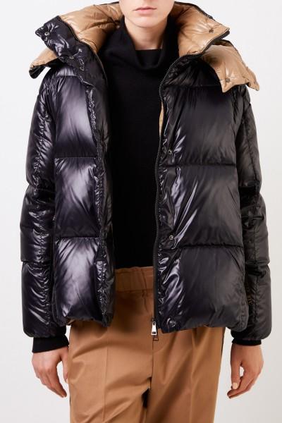 Moncler Oversize down jacket 'Paran' Black/Beige