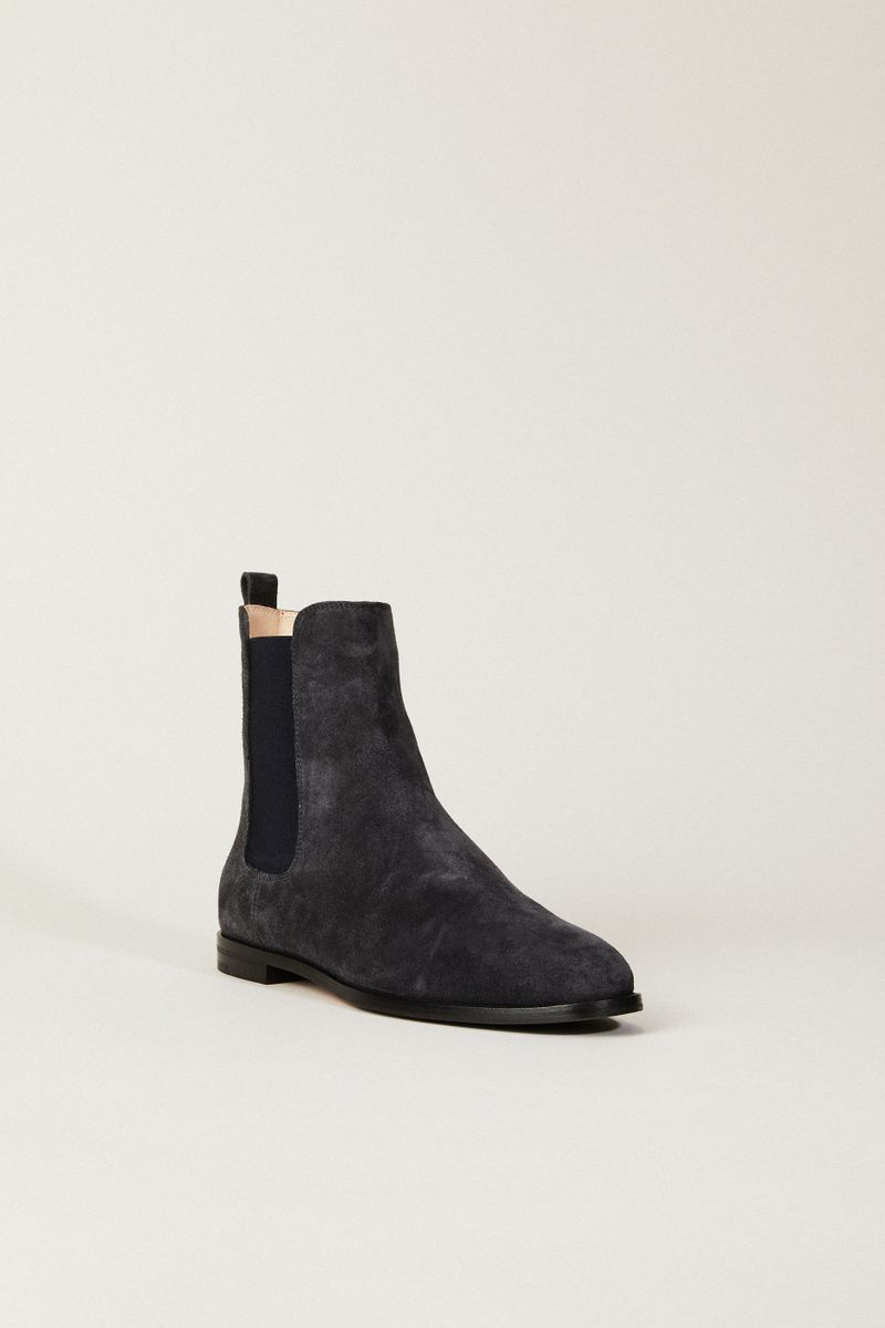 Chelsea Boot Blau/Grau