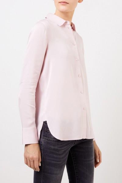 Vince Classic silk blouse Light Pink