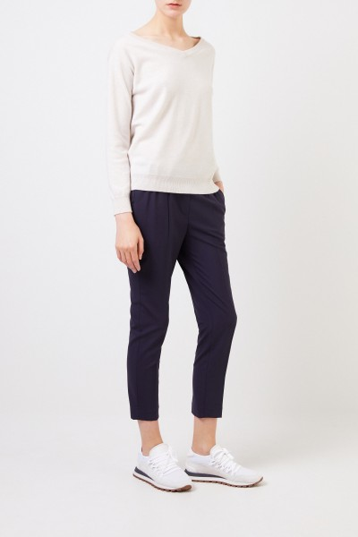 Wool pants Blue
