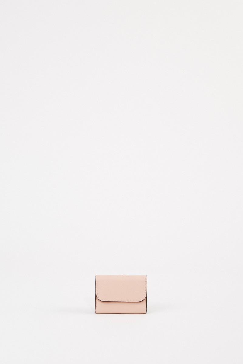 Chloé Mini-Portemonnaie 'Alphabet Coins' Blush Nude