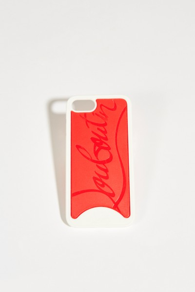 IPhone Case 7/8 with Logo White/Red