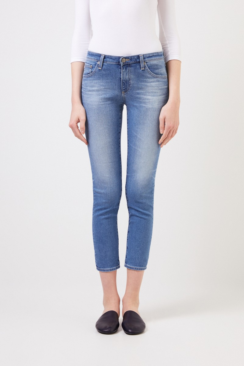 AG Jeans Jeans 'The Prima Ankle' Hellblau