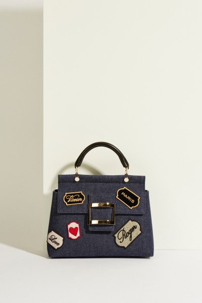 Tasche 'VIV Voyage Patch' mit Patches Multi