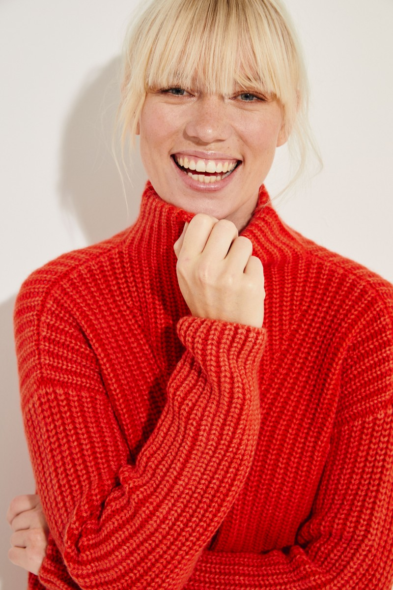 Cashmere-Pullover 'Megan' Rot