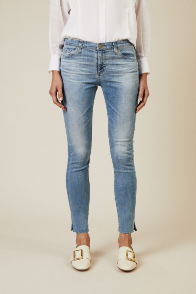 Super-Skinny-Jeans 'The Legging Ankle' Blau