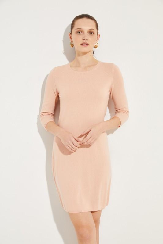 Cashmere-Kleid 'Cassandra' Nude