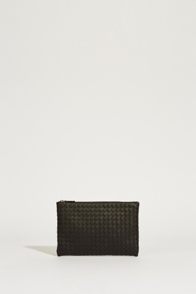 Braided Clutch 'Poach' Black