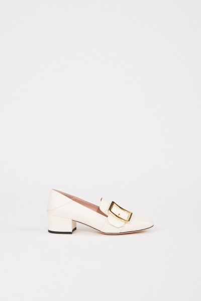 Bally Leather pump 'Janelle' Cream