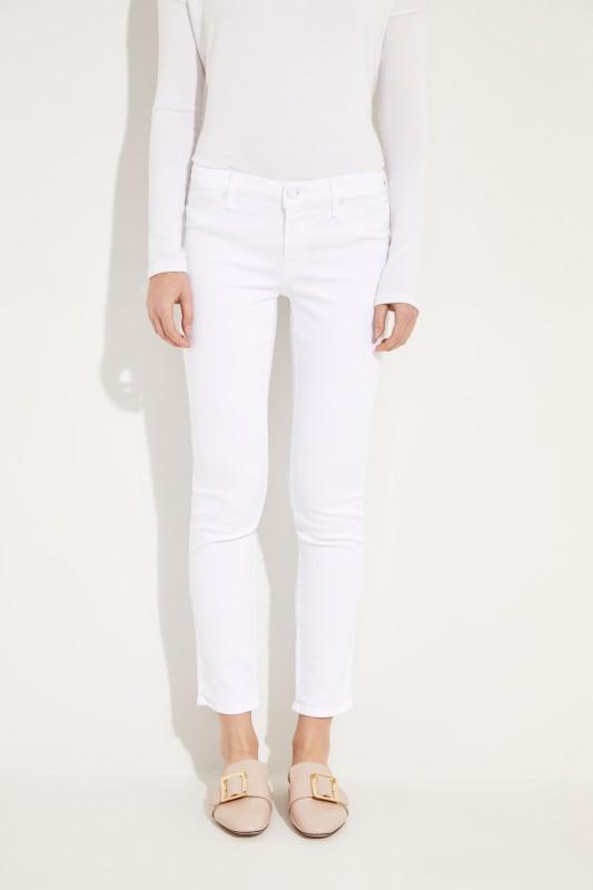 Jeans 'Pyper Cropped' Weiß