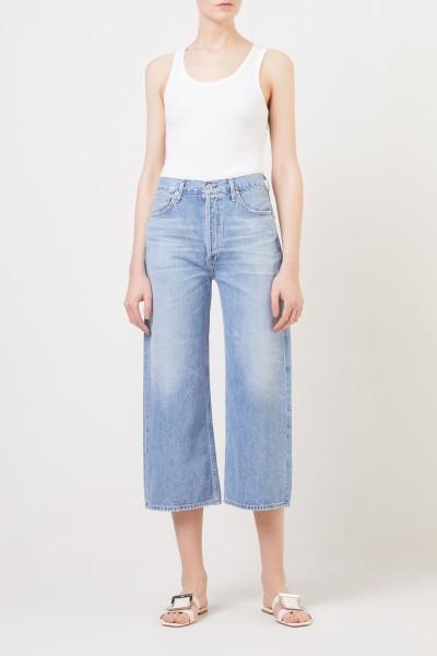 Citizens of Humanity Jeans mit weitem Bein 'Sacha' Blau