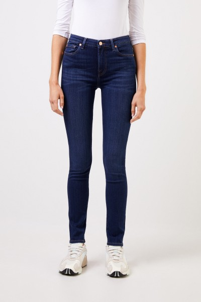 7 for all mankind Skinny-Jeans 'Pyper' Blau