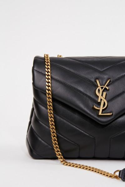 Saint Laurent Shoulder bag 'LouLou S' Black