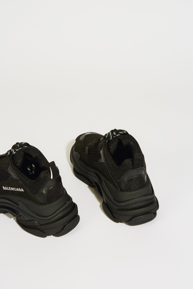 Sneaker 'Triple S' Schwarz