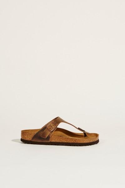 Sandale 'Gizeh' Braun