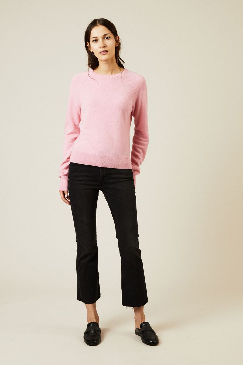 Cashmere-Pullover 'Alex' Pink