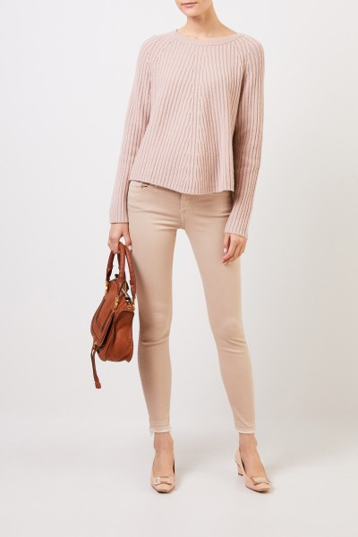 Wool cashmere pullover Nude